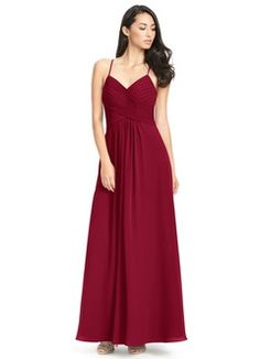 Shop Azazie Bridesmaid Dress - Azazie Haleigh in Chiffon. Find the perfect made-to-order bridesmaid dresses for your bridal party in your favorite color, style and fabric at Azazie. Dusty Blue Bridesmaid Dresses, Red Bridesmaids, Azazie Bridesmaid Dresses, Wedding Dresses, Allure Bridesmaid, Bride Dresses, Teen Dresses, Bridesmaid Ideas, Pink Dresses