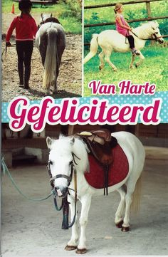 Felicitatiekaart voor meisjes en paardenliefhebbers Goats, Horses, Animals, Animaux, Animales, Goat, Horse, Animal, Dieren
