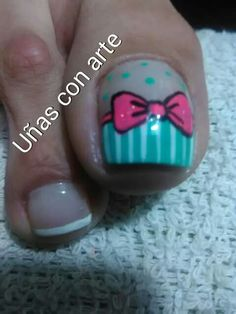 Nails Pretty Toe Nails, Cute Toe Nails, Love Nails, How To Do Nails, Toe Nail Designs, Fall Nail Designs, Acrylic Nail Designs, Pedicure Nail Art, Toe Nail Art