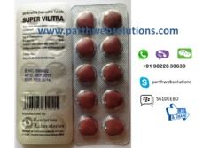 Super Vilitra (Vardenafil, Dapoxetine Tablets)
