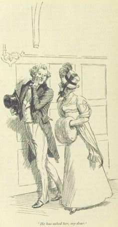 Jane Austen Emma - He has asked her, my dear