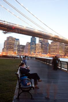 Brooklyn Bridge Park, as its name would suggest, is stationed under the Brooklyn Bridge. It draws thousands of visitors each week who come for awe-inspiring views of Manhattan and idyllic picnic spots along the waterfront. The park is also the site of special events, including the free Movies With a View, kayaking, rowing and fitness classes. [Photo: Malcolm Brown/NYC & Company]