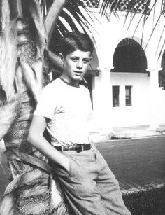 c1931. John F. Kennedy in Palm Beach, Florida