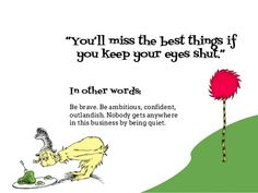 10 Dr Seuss Quotes to Frame your Online Marketing Strategy