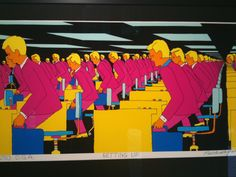 Pushwagner: Soft City - Google-søk Banksy, Different Kinds Of Art, Office Art, Oslo, Bart Simpson, Pop Art, City, Fictional Characters, Artists