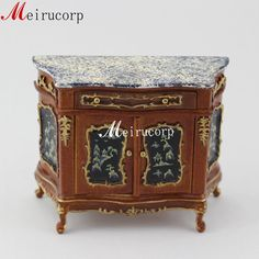 Fine1/12 scale Miniature furniture hand carved by Meirucorpstore