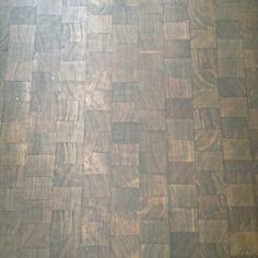 WANT!!  Block-End Wood Flooring