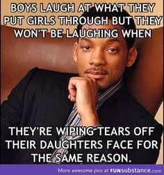 Will Smith knows What he's talking about.