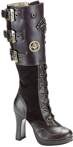 Intrepid Steampunk boots