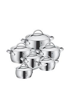 WMF 07 1112 6040 Gala II Cookware Set, Silver ** Click Image To Review More  Details. | Dishes/Tableware/centerpieces | Pinterest | Cookware Set, ...
