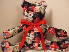 United States Coast Guard Themed Stuffed Teddy Bear