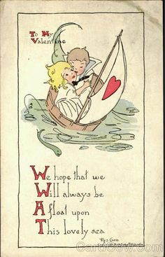 Love Was, Love Is. 50 Vintage Valentines!