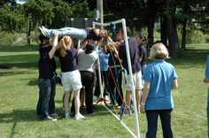 Some Team Building, Spiders Web