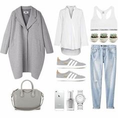Fashion Landscape — Today's wanna wear « Kleidung Pinterest Mode, Pinterest Fashion, Mode Outfits, Casual Outfits, Fashion Outfits, Fashion Capsule, Looks Street Style, Looks Style, Womens Fashion Online