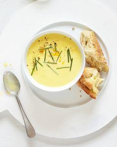 Recipe: Truffled Corn Soup — Fast & Fancy 5-Ingredient Dinners