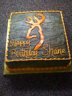 Browning Deer Head Cakes