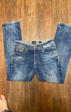Buckle black jeans men on Mercari Buckle Jeans Mens, Black Jeans Men, Jeans Size, Denim Shorts, Legs, How To Wear, Amazon, Fashion, Moda
