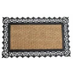 Scroll Design Welcome Mat
