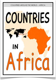 Countries in Africa - Treetop Displays - With a title poster here is a set of 55 A4 posters that display all the countries in the African continent. Each poster reveals the country's name, flag, its population and capital city. A very informative learning aid! Visit our website for more information and for other printable classroom resources by clicking on the provided links. Designed by teachers for Early Years (EYFS), Key Stage 1 (KS1) and Key Stage 2 (KS2).
