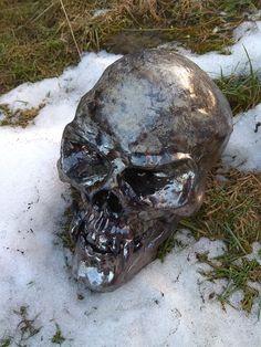 Keramická lebka technika raku Skull, Art, Art Background, Kunst, Performing Arts, Skulls, Sugar Skull, Art Education Resources, Artworks