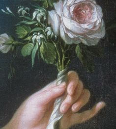 (detail) Marie Antoinette with rose