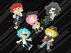 Neko, Fnaf Freddy, Funtime Foxy, Old Cartoons, Cartoon Games, Cute Chibi, Five Nights At Freddy's, Kawaii Cute, Pictures To Draw