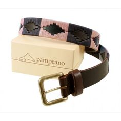 Pampeano s Luxury Hand Stitched Polo Belt - Hermoso is Hand stitched and made with the finest vegetable tanned leather in Argentina With tough Brass