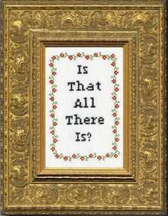 PDF: Is That All There Is?
