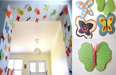 reciclaje manualidades mariposas