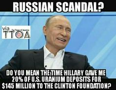 Haggy Hillary DEFINITELY colluded with the Russians!!!!