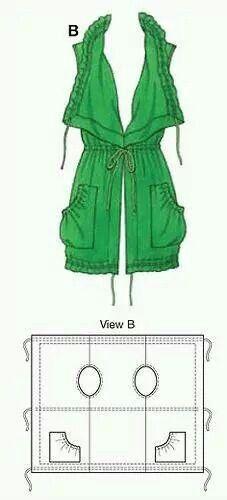 Schema semplice casacca