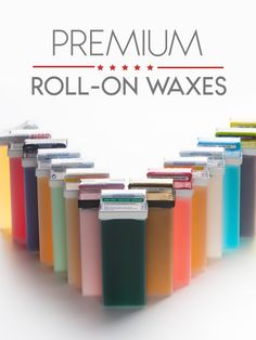 Roll-ons make waxing a lot easier and tidier as they eliminate the need of using spatulas, cans, tins, and other instruments that take more cleanup after the waxing procedure is done. Body Waxing, Clean Up, Tins, Instruments, Rolls, Easy, How To Make, Tin Cans, Buns