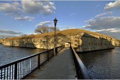 Postern Gate Bridge at Fort Monroe