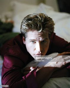 Val Kilmer by George Holz; Get premium, high resolution news photos at Getty Images Val Kilmer, Daddy Issues, Interesting Faces, Hot Guys, Cinema, Actors, Knight, Cute, Image