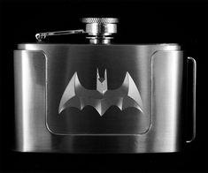 Batman Flask Belt Buckle