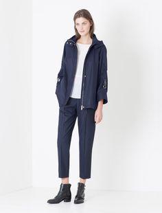 A-line rain jacket  брюки  к моей бордовой ветровке от джил сандер