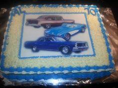 Classic cars cake