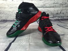 the best attitude f771d 24903 Nike Zoom Soldier VII TB Lebron (RBG Style  1). Custom Painted Shoes ...