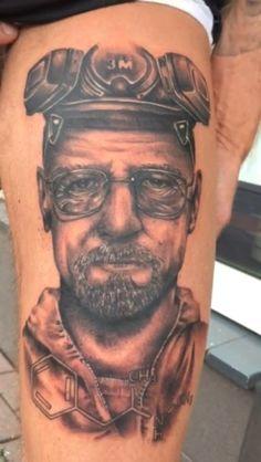 Breaking bad heisenberg  My new tattoo