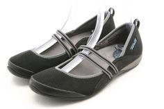 c3b7ba915 TEVA Womens shoes Size 9 black gray mary jane sport flats EU 40  Teva