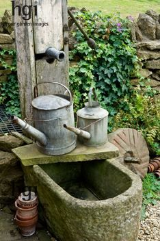 Zalig mooi voor in de tuin => en dan zo vergroenen door water