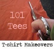 Crafting blog: tshirt makeovers, modge podge tshirt transfer, etc.