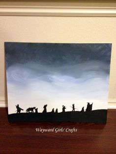 Lord of The Rings Picture | Wayward Girls Crafts My sister MADE this guys!