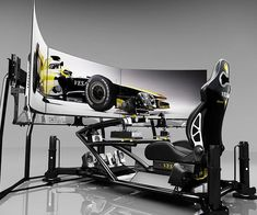 See if you've got what it takes to race with the best of them when you take on the professional racing scene with the advanced racing simulator. This state of the art system will allow you to experience the thrill of racing the world's fastest cars at a fraction of the price.