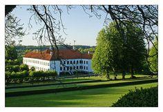 Clausholm Slot near Randers, Denmark