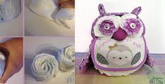 QUE C'EST BEAU! On fait changement des gâteaux-couches gâteaux! Des gâteaux-couches bicyclettes: ICI, des gâteaux-couches bouquets de fleurs: ICI! On fait un gâteau-couches hibou! HOOU HOOU! C'est chouette! Ils sont super à la mode! On ne s'en lasse