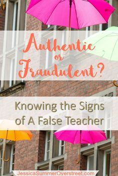 How do you know if you are sitting under a true teacher of the Bible or a false prophet? Read to find out several verses and examples of true Biblical teaching.