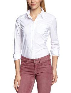 Levi's Women's Shirt-blouse Long - regular Blouse - White - Weiß (White 0001) - 10 (Brand size: S) Levi's http://www.amazon.co.uk/dp/B00B4S3O50/ref=cm_sw_r_pi_dp_VeEfub1Z0T5XR