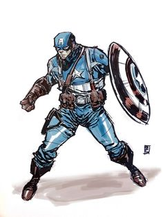 Captain America - Brian Ching