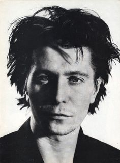 Gary Oldman photographed by David Bailey for Vanity Fair, late 1980s.